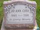 Profile photo:  Jo-Ann <I>Lothian</I> Verdon Cote