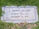 Profile photo:  A. <I>Brown</I> Dillard