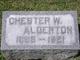 Chester W Alderton