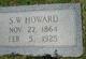 Shadwick E. Howard