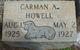 Carman A Howell