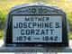 Sarah Josephine <I>Whitaker</I> Corzatt