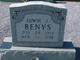 Edwin Joe Benys
