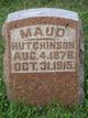 Maude <I>Bozarth</I> Hutchinson
