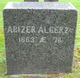 Profile photo:  Abiezer Alger