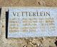 Vera V Vetterlein