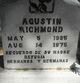 Profile photo:  Agustin Richmond