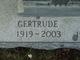 """Gertrude """"Gertie"""" <I>Zimnywoda</I> Gallatz"""