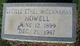 Lucille Ethel <I>McClanahan</I> Howell