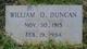 William O Duncan