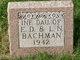 Mary Elizabeth Bachman
