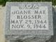 Joane Mae Blosser