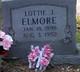 Lottie Jane <I>Rose</I> Elmore