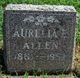 Aurelia E. Allen