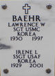 Profile photo:  Lawrence Wendell Baehr