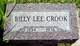 Profile photo:  Billy Lee Crook