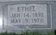 Ethel Myrtle <I>White</I> Erwin