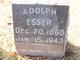 Profile photo:  Adolph Phillip Esser, Jr