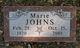Hazel Marie <I>Martin</I> Johns