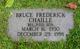 Profile photo:  Bruce Frederick Chaille