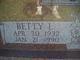 Profile photo:  Betty Louise <I>Arnold</I> Cronk