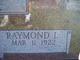 Profile photo:  Raymond L. Cronk