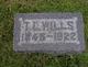 Pvt Thomas L. Wills