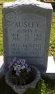 Profile photo:  Aubrey E. Ausley
