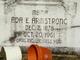 Profile photo:  Ada E <I>Ferguson</I> Armstrong