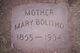 Profile photo:  Mary frances <I>putman</I> Bolitho