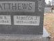 "Rebecca Jane ""Beckie"" <I>Jackson</I> Matthews"