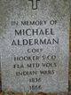 Profile photo: Corp Michael Alderman