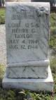 Henry Gladston Taylor