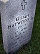 Elijah Haywood, Jr