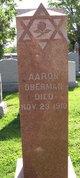 Profile photo:  Aaron Oberman