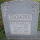 Rev Nicholas Benjamin Snowden