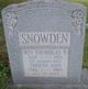 Phoebe Ann <I>Waters</I> Snowden