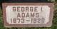 George I Adams