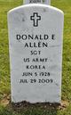 Profile photo:  Donald Eugene Allen
