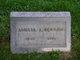Profile photo:  Amelia Adeline <I>Vandervort</I> Benton