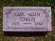 Profile photo:  Carl Allen Tomlin