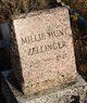 Millie <I>Hunt</I> Zellinger
