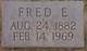 "Frederick Earl ""Fred"" Fleagle"