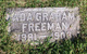 Profile photo:  Ada <I>Graham</I> Freeman