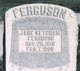 Jane <I>Ketcham</I> Ferguson