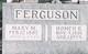 Mary <I>Mayfield</I> Ferguson