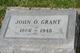 John Oliver Grant