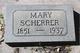 Mary Ann <I>Floyd</I> Scherrer