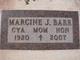 "Marcine Jane ""Cya"" <I>Andersen</I> Barr"