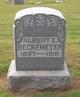 Profile photo:  Albert E. Beckemeyer